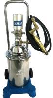 Нагнетатель густой смазки пневматический из нержавеющей стали (солидолонагнетатель) HG-68213S AE&T