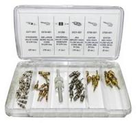 Комплект золотников для обслуживания автокондиционеров 91337