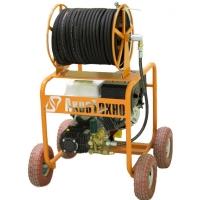 Аппарат высокого давления (помпа) 15 л/м 220 бар с бензиновым двигателем КПМ-М1-220-15-Б