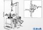 "Шиномонтажный станок SIVIK (Сивик) КС-301А 10-20"" полуавтоматический шиномонтажный стенд, 380В, 10-12бар"