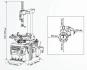 Сивик(Sivik) КС-402А Про автоматический шиномонтажный станок стенд
