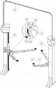 Ремонт и запчасти для автомобильных подъемников Maha и SLIFT