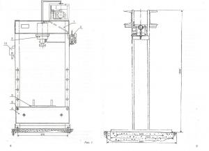 Изготовление электрогидравлического пресса 100 тонн под заказ